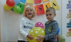 3 urodziny Kubusia grupa Pingwinki
