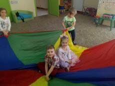 4-latki grupa Tygryski - Urodziny Aleksandry i Stanisława