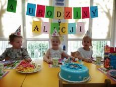 4 urodziny Alicji