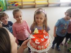 4 urodziny Oli z grupy Misie
