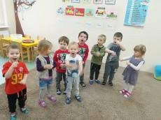 4 urodziny Olka w grupie Kangurki