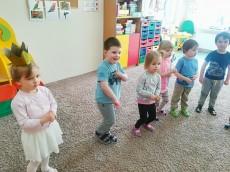 4 urodziny Roksany z grupy Kangurki