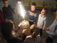 5 urodziny Filipka gr. Sówki