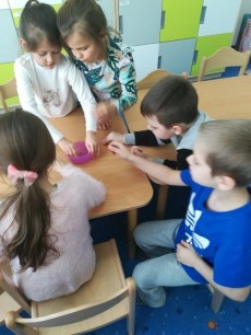 6-latki grupa Wiewiórki - Wizyta Pani Dietetyk
