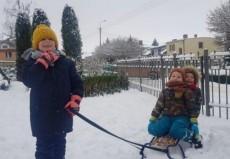 grupa Jeżyki i Wiewiórki - II tydzień ferii zimowych już minął
