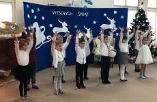 grupa Jeżyki - Przedszkolne kolędowanie