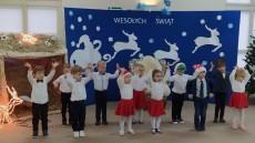 grupa Kangurki - Przedszkolne kolędowanie