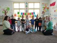 grupa Misie - 4 urodziny Blanki i Zuzi