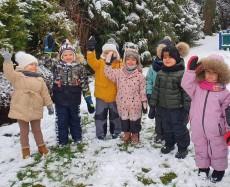 grupa Misie i Kangurki - I tydzień ferii zimowych