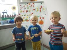 grupa Misie - Owocowe szaszłyki