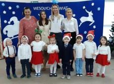 grupa Misie - Przedszkolne kolędowanie