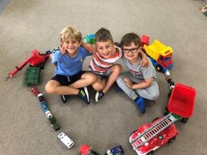 grupa Sówki i Jeżyki - Tydzień II - Środki lokomocji