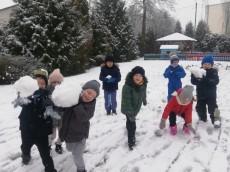 grupa Sówki - I tydzień ferii zimowych