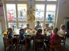 grupa Tygryski - 5 urodziny Ignacego