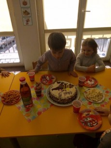 grupa Tygryski - 5 Urodziny Stasia