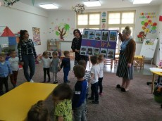 "grupy: 3-latki Misie, Kangurki, Pingwinki - ""Mława-Nasze Miasto"""