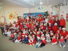 Pod choinkę Mikołaj Święty przynosi nam prezenty - spotkanie z Mikołajem