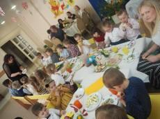 Śniadanko Wielkanocne w Przedszkolu