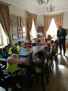 Z wizytą u Burmistrza Miasta Mława