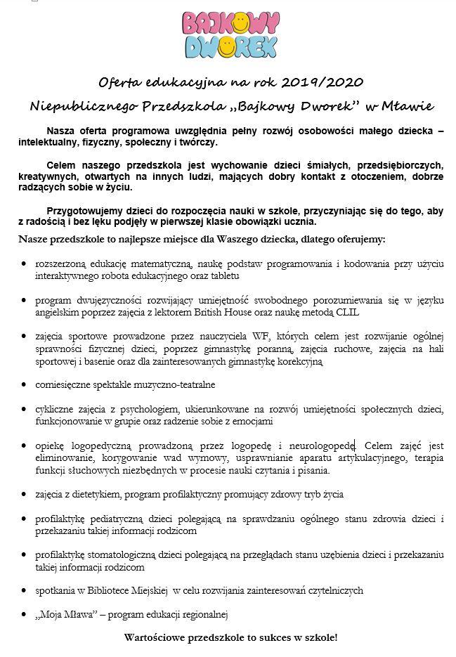 oferta-przedszkole-2019-2020