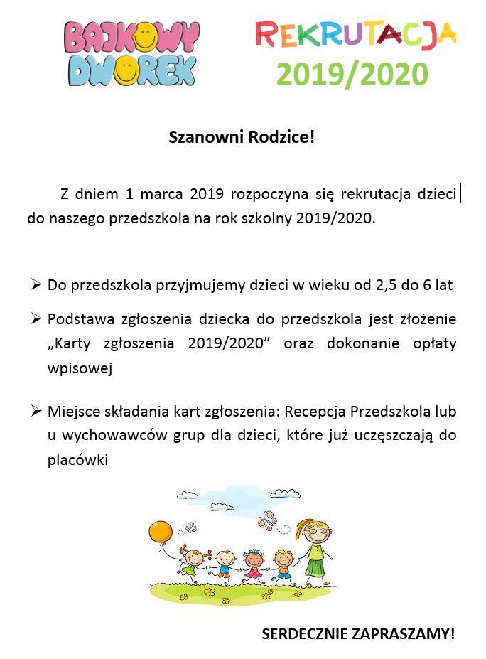 rekrutacja-przedszkole-2019